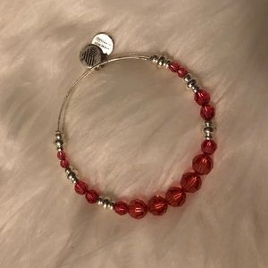 Pink Beaded Alex and Ani Bracelet